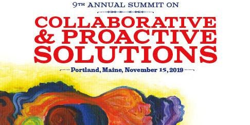 9th Annual Summit on Collaborative & Proactive Solutions: Diversity and Collaboration Come Together