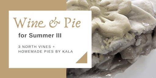Pie & Wine Pairing for Summer III