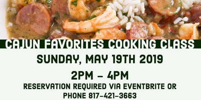 Saladmaster Owners Only: Cajun Favorites Cooking Class