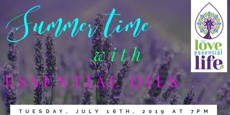 SUMMER Time with Essential Oils tickets