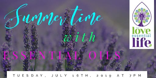 SUMMER Time with Essential Oils