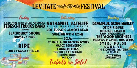 7th Annual Levitate Music Festival in Marshfield, MA tickets