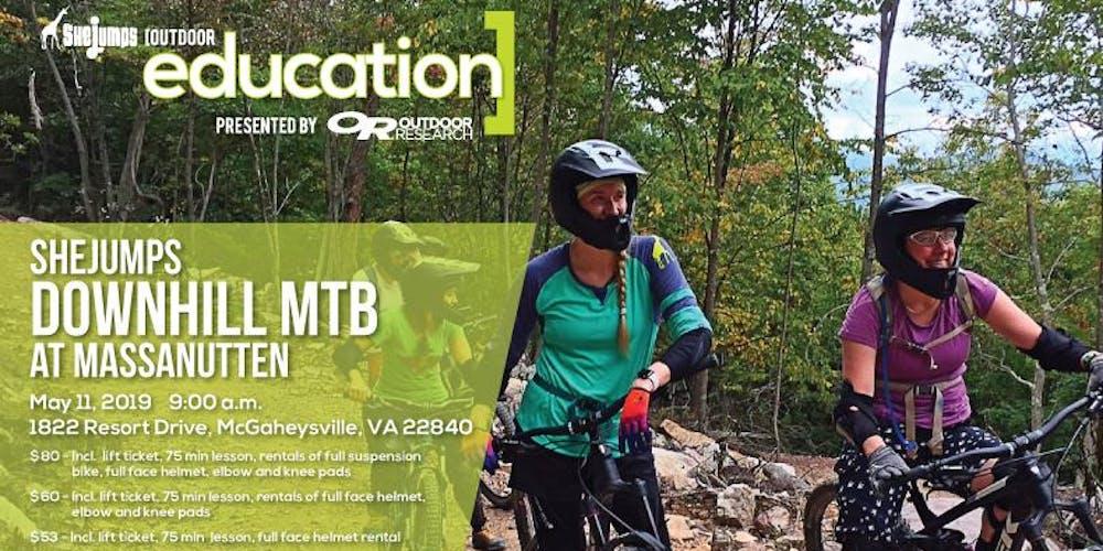 349255e61f4 SheJumps Downhill Mountain Bike Day at Massanutten Tickets