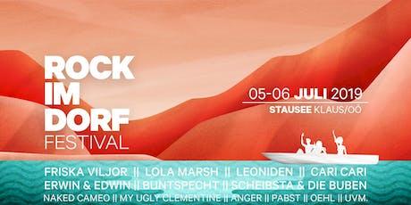 ROCK IM DORF Festival 2019 Tickets