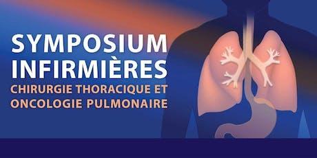 Symposium des infirmières en chirurgie thoracique et oncologie pulmonaire billets