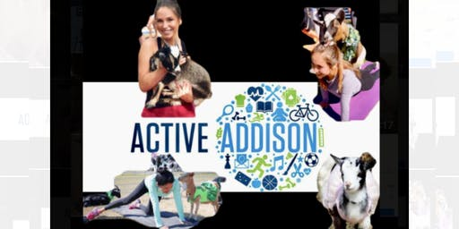 Goat Yoga Addison Summer Series!
