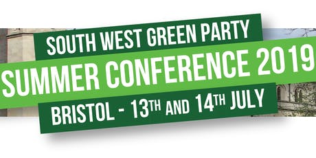 South West Green Party summer conference tickets