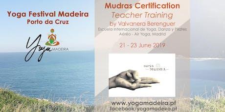 Mudras Certification bilhetes