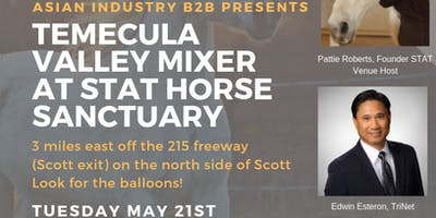 AIB2B Presents Temecula Valley Mixer at STAT Horse Sanctuary