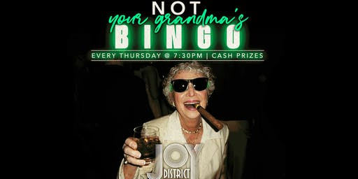Not Your Grandma's Bingo!
