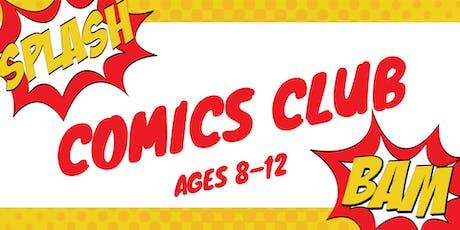Comics Club tickets