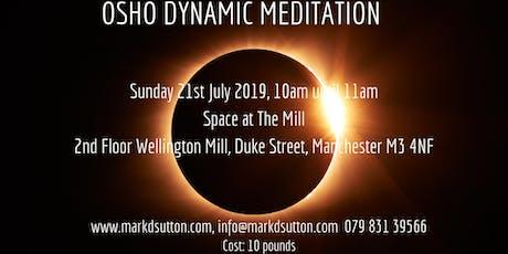 OSHO Dynamic Meditation. Manchester tickets