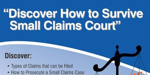 Discover How To Survive Small Claims Court