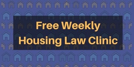 Free Weekly Housing Law Clinic in Brunswick tickets