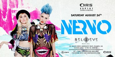 NERVO | IRIS ESP101 Learn to Believe | Saturday August 24 | 18+