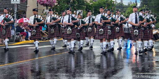 Kimberley Pipe Band - Road to 2020 Ceilidh