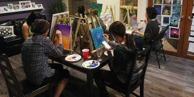 Meditate & Paint Night
