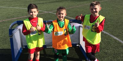 SAFC Football Classes - Allan Centre 5-6 Year Olds