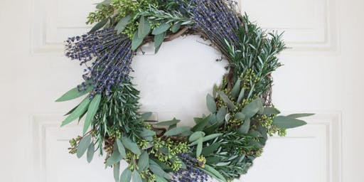 Holiday Wreaths At The Waterfall
