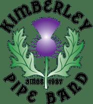 Kimberley Pipe Band Road to 2020 logo