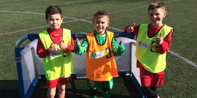 SAFC Football Classes 5-6 Year Old - Newton Primary School, Dunblane.