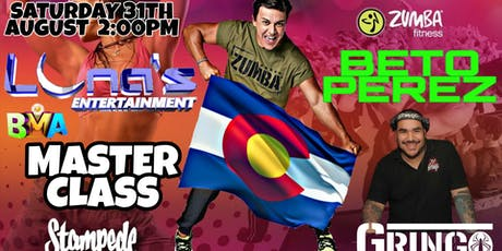 "MASTER CLASS ""BETO PEREZ"" DENVER tickets"