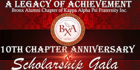 "Bronx Alumni ""A Legacy of Achievement"" 10th Chapter Anniversary & Scholarship Gala tickets"