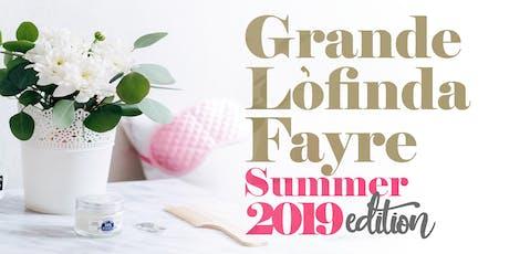 GRANDELÒFINDAFAYRE SUMMER 2019 EDITION #GLF2019 tickets