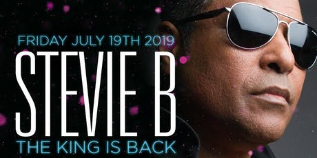 Stevie B LIVE! at Blue Martini Kendall  tickets