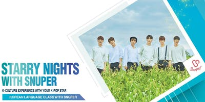 Starry Nights with SNUPER- Korean Language Class