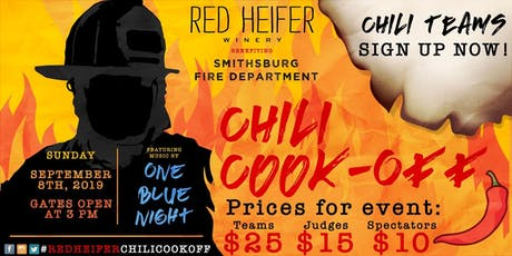 Chili Cook-off - JUDGE and ENTRY tickets