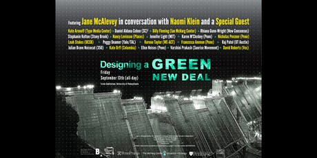 Designing a Green New Deal tickets