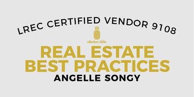 May 21 - Real Estate Best Practices
