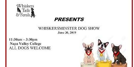 Whiskersminster Dog Show tickets