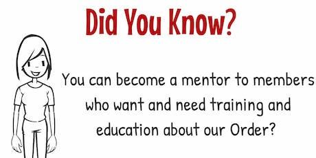 2019 CA OES Membership Certified Mentor Workshop tickets