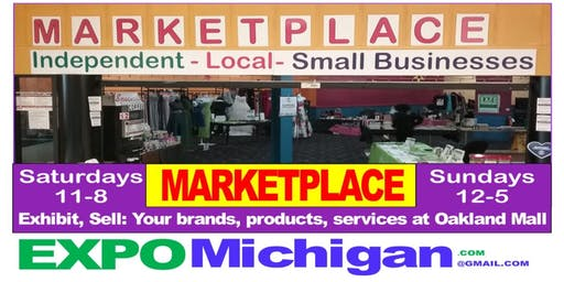 Arts, Crafts, Decor - Gifts, Hats, Jewelry & more!  vendors WANTED:  MARKETPLACE, Oakland Mall, Troy, Saturdays, Sundays