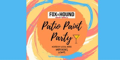 Boozy Patio Paint Party