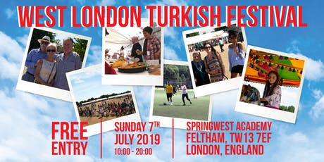 West London Turkish Festival 2019 (a Charity event) tickets