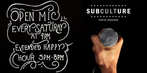 Open Mic Night at Subculture Coffee Delray