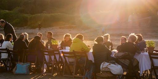 Beach Breakfast: Wood-fired Crumpets