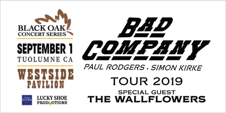 BAD COMPANY with The Wallflowers tickets