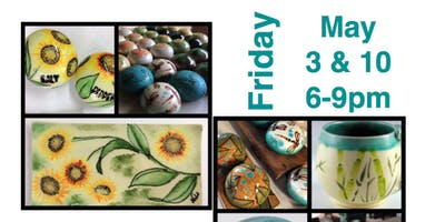Copy of Ceramic Painting  Workshop (2- day, May 3 and May 10)