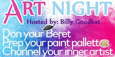 May Art Night: - Break into summer!