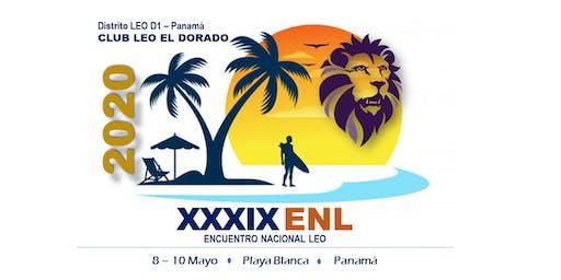 XXXIX Encuentro Nacional LEO 2020
