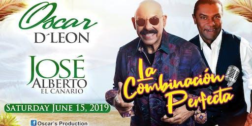 """OSCAR D'LEON & JOSE ALBERTO """"El Canario"""",  LA COMBINACIÓN PERFECTA!"""