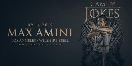 Max Amini Live in Los Angeles - Game of Jokes  tickets