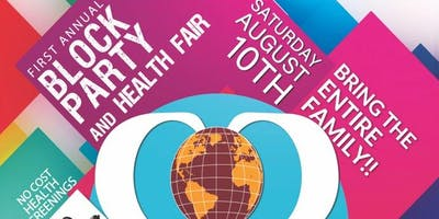 Block Party and Health Fair