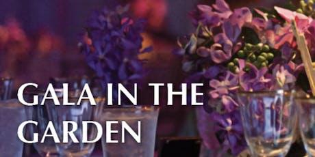 Inaugural Gala in the Garden tickets