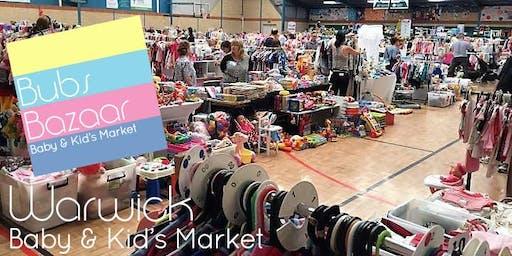 Bubs Bazaar Baby & Kids Market- Warwick Stadium- Sunday 23rd June '19