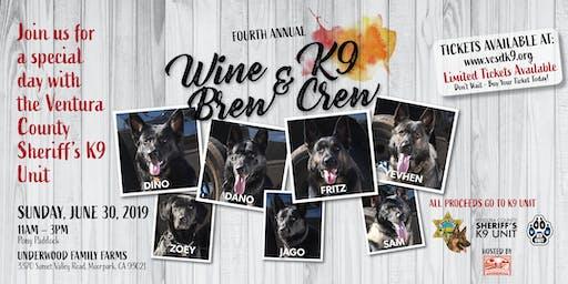 Wine, Brew & K9 Crew